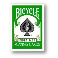 Bicycle Green Rider Back Deck