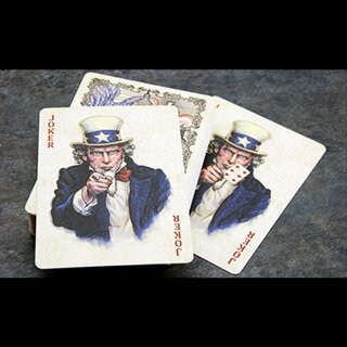 US President Playing Cards (BLACK Limited Edition) by Collectable Playing Cards