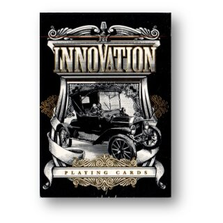 Innovation Playing Cards Black Edition by Jody Eklund