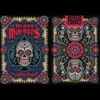 Dia de los Muertos Black Playing Card (2nd Edition)