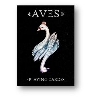 Bicycle Aves 2 Playing Cards Deck Black Version