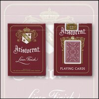 Aristocrat 727 Bank Note Cards (Red)