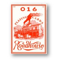 Roadhouse Red Poker Deck by Ellusionist