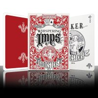 Gamesters Playing Cards Red