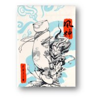 Fujin & Raijin Playing Cards - Blue