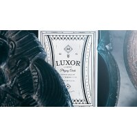 Limited Edition White Luxor Playing Cards by Toomas Pintson