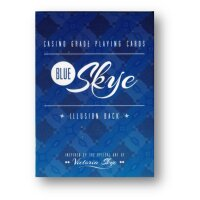 Blue Skye Playing Cards by UK Magic Studios and Victoria...