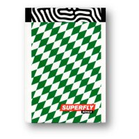 Superfly Royale Green Playing Cards