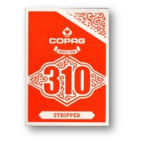 COPAG 310 Playing Cards - STRIPPER DECK RED - Slim Line