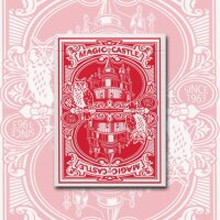 Magic Castle Red Deck by USPCC